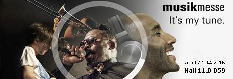 Frankfurt Musikmesse ::: 7-10 april 2016