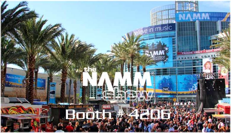 The Namm show 2019 :: January 24th – 27th :: Anaheim CA